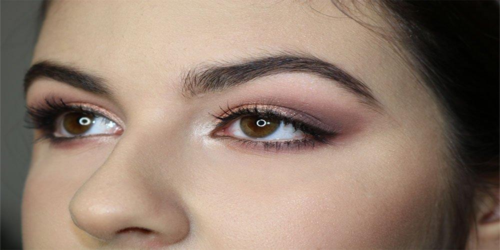 primo piano make-up occhi