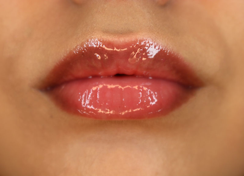 natural lip make-up