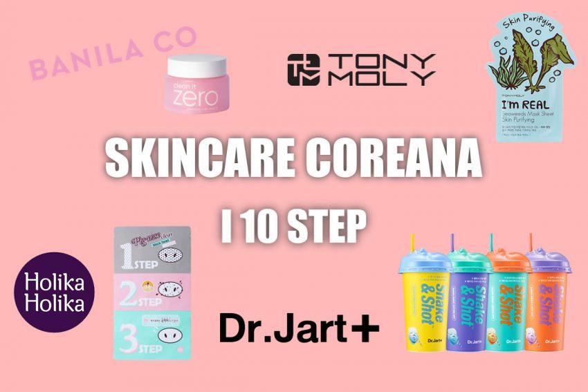 skincare coreana 10 step